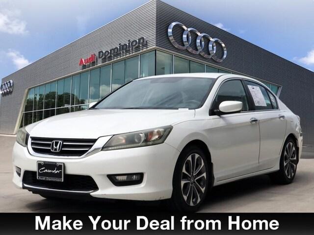 Bargain Used 2014 Honda Accord Sport Sedan under $15,000 for Sale in San Antonio