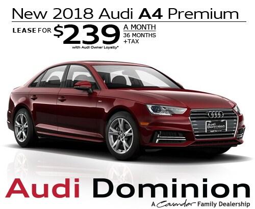 New Audi Specials At Audi Dominion New Audi Dealership In San - Audi lease