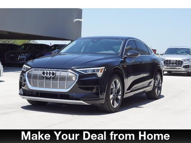 New 2020 Audi e-tron Premium Plus Sportback in San Antonio, Texas