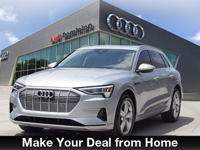 New 2019 Audi e-tron Premium Plus SUV in San Antonio, Texas