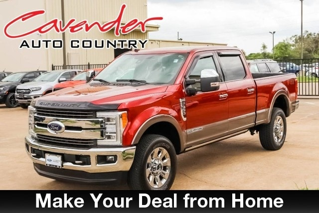 Certified Pre-Owned 2019 FordSuper Duty F-350 King Ranch Crew Cab