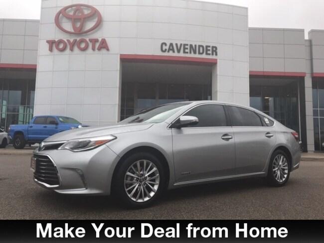 Used 2016 Toyota Avalon Hybrid Limited Sedan San Antonio