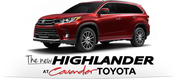 New Toyota Highlander in San Antonio | Cavender Toyota