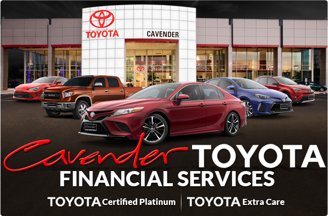 Toyota Financial Services at Cavender Toyota in San ...