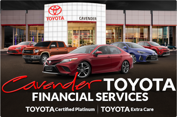 Toyota Financial Services At Cavender Toyota In San Antonio Serving