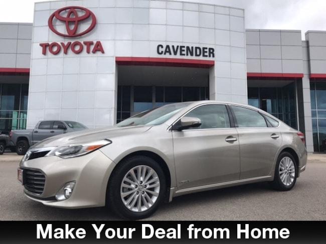 Used 2015 Toyota Avalon Hybrid Limited Sedan San Antonio