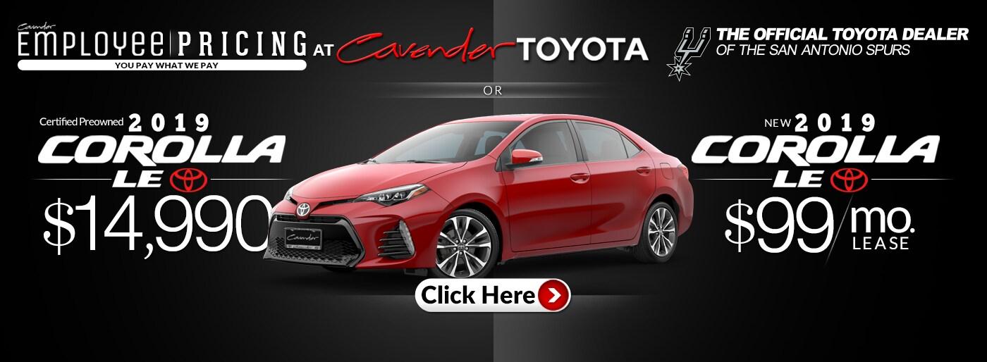 Cavender Toyota Toyota Dealership San Antonio Tx