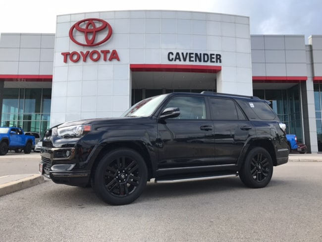 Used 2019 Toyota 4Runner Limited Nightshade SUV San Antonio
