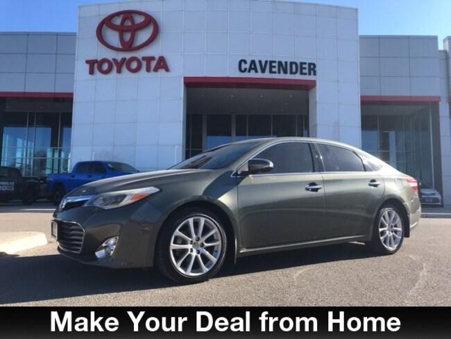 Used 2013 Toyota Avalon Limited Sedan San Antonio