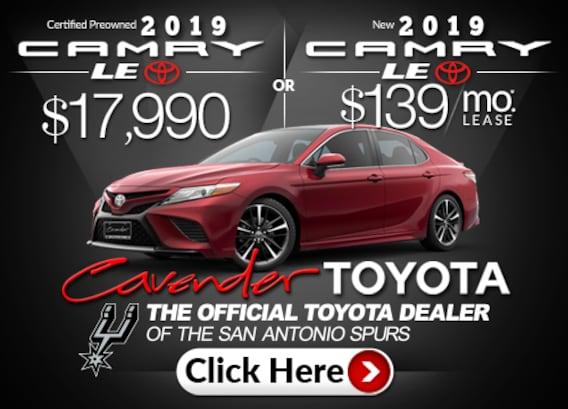 Cavender Toyota Toyota Dealership San Antonio Tx Serving