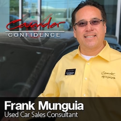 Meet Our Used Car Staff at Cavender Toyota in San Antonio, TX