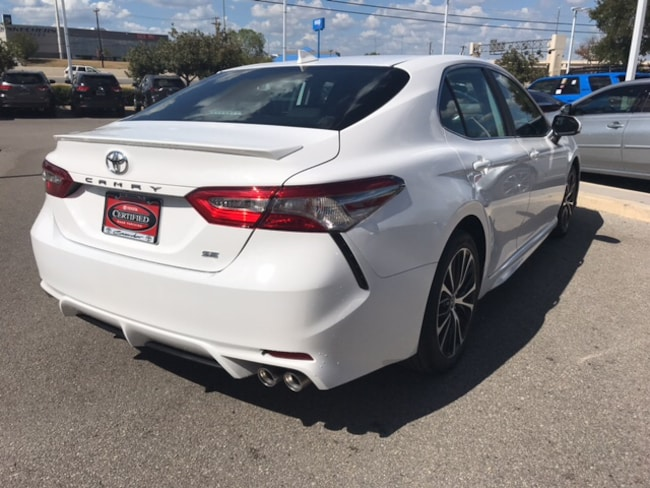 Certified 2019 Toyota Camry Se For Sale In San Antonio Tx