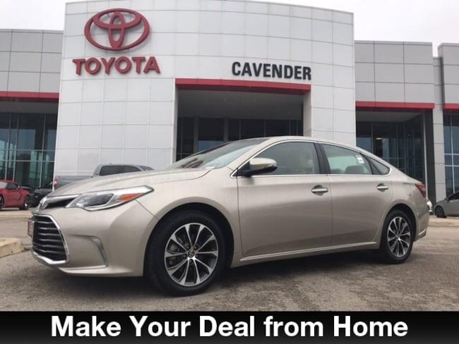 Used 2016 Toyota Avalon XLE Sedan San Antonio
