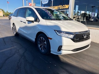 New 2021 Honda Odyssey EX-L Van 5FNRL6H75MB008055 in Port Huron, MI