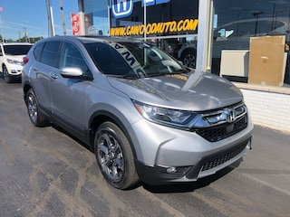 New 2019 Honda CR-V EX AWD SUV 2HKRW2H52KH653520 in Port Huron, MI