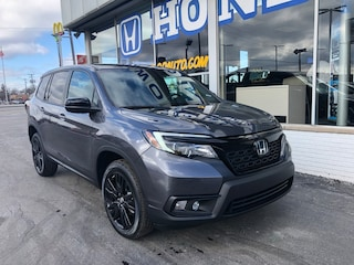 New 2019 Honda Passport Sport AWD SUV 5FNYF8H20KB006598 in Port Huron, MI