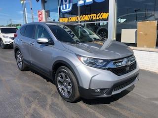 New 2019 Honda CR-V EX AWD SUV 2HKRW2H53KH653333 in Port Huron, MI