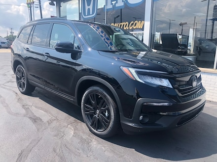 Featured New 2021 Honda Pilot Black Edition AWD SUV for sale in Port Huron, MI