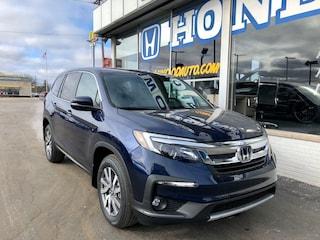 New 2020 Honda Pilot EX-L AWD SUV 5FNYF6H51LB035513 in Port Huron, MI