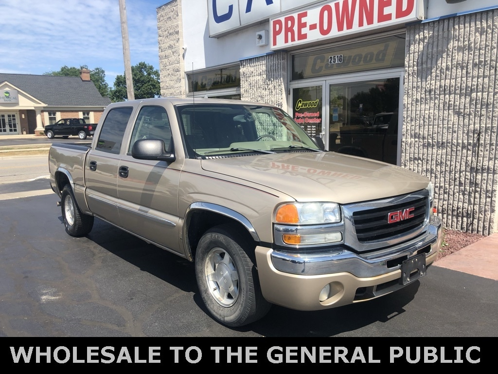 Featured Used 2004 GMC Sierra 1500 SLE Truck for sale in Port Huron, MI