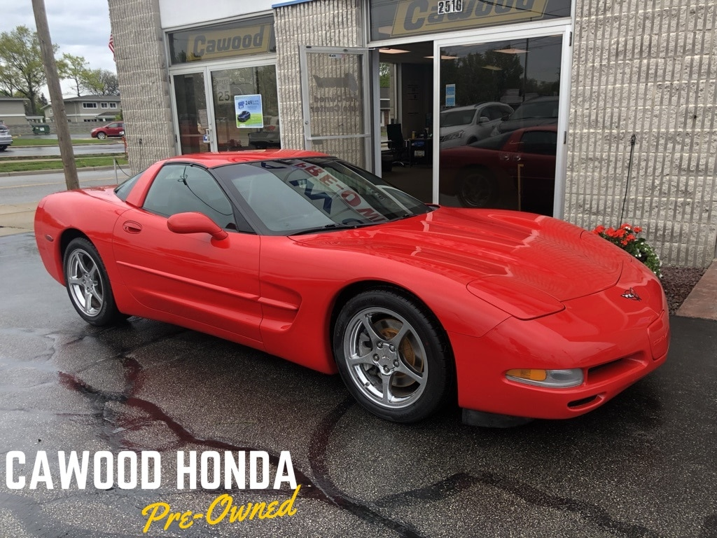 Featured Used 1999 Chevrolet Corvette Base Coupe for sale in Port Huron, MI
