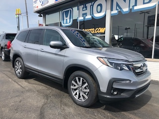 New 2021 Honda Pilot EX-L AWD SUV 5FNYF6H53MB066232 in Port Huron, MI