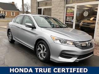 Used 2017 Honda Accord LX Sedan HL077A in Port Huron, MI
