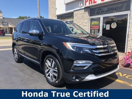 Featured Used 2017 Honda Pilot Elite SUV for sale in Port Huron, MI