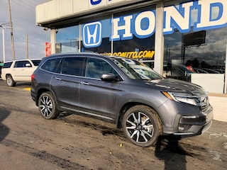 New 2019 Honda Pilot Touring 8-Passenger AWD SUV 5FNYF6H96KB100454 in Port Huron, MI