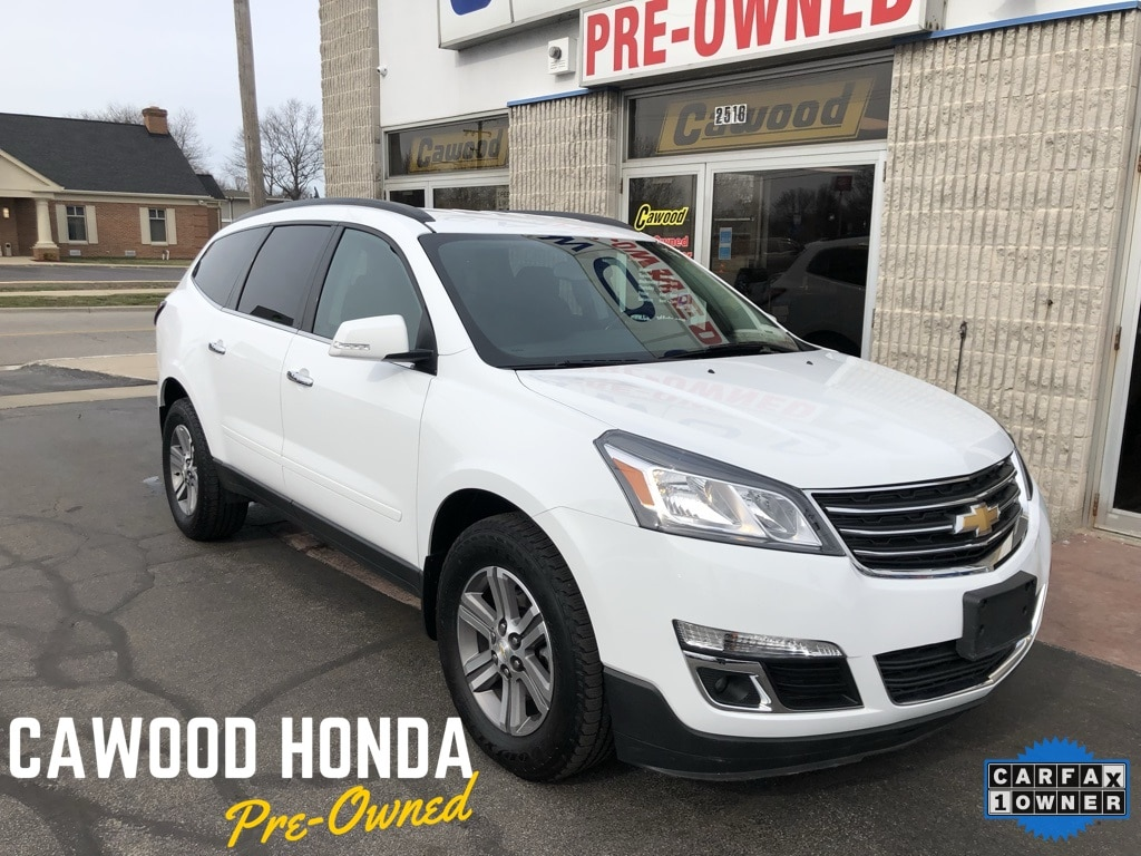 Featured Used 2017 Chevrolet Traverse LT SUV for sale in Port Huron, MI