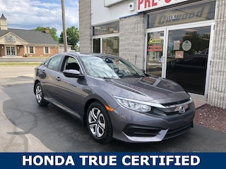 Used 2018 Honda Civic LX Sedan PL377 in Port Huron, MI