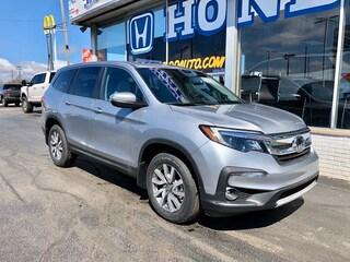 New 2020 Honda Pilot EX-L AWD SUV 5FNYF6H52LB045726 in Port Huron, MI