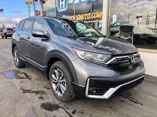 New 2021 Honda CR-V EX AWD SUV 5J6RW2H55ML003976 in Port Huron, MI