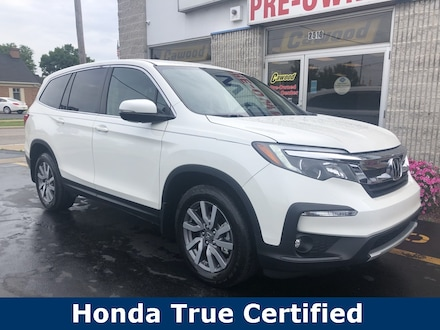 Featured Used 2019 Honda Pilot EX-L SUV for sale in Port Huron, MI