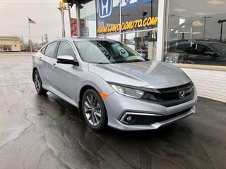 New 2020 Honda Civic EX Sedan 19XFC1F31LE001856 in Port Huron, MI