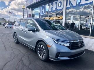New 2021 Honda Odyssey EX-L Van 5FNRL6H77MB018151 in Port Huron, MI