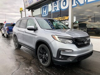 New 2021 Honda Pilot Special Edition AWD SUV 5FNYF6H29MB036352 in Port Huron, MI