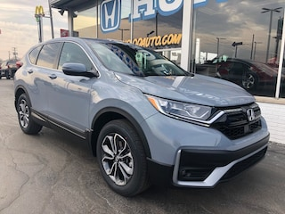 New 2021 Honda CR-V EX AWD SUV 2HKRW2H58MH635333 in Port Huron, MI