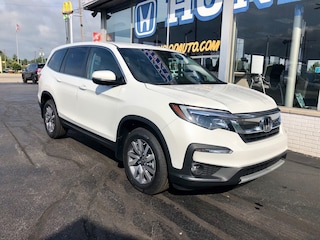 New 2021 Honda Pilot EX AWD SUV 5FNYF6H33MB013898 in Port Huron, MI
