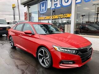 New 2020 Honda Accord Sport 2.0T Sedan 1HGCV2F39LA005841 in Port Huron, MI