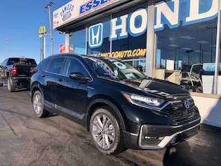 New 2020 Honda CR-V Hybrid Touring SUV 7FART6H90LE019842 in Port Huron, MI