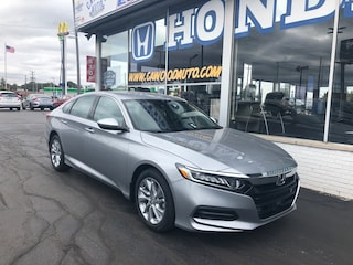New 2020 Honda Accord LX 1.5T Sedan 1HGCV1F12LA128972 in Port Huron, MI