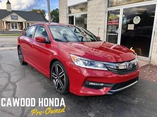 Used 2016 Honda Accord Sport Sedan PL696 in Port Huron, MI