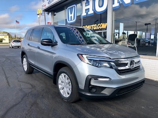 New 2021 Honda Pilot LX FWD SUV 5FNYF5H10MB007985 in Port Huron, MI