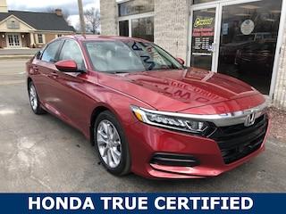 Used 2018 Honda Accord LX Sedan HL066A in Port Huron, MI
