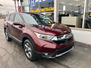 New 2019 Honda CR-V EX AWD SUV 2HKRW2H51KH604230 in Port Huron, MI