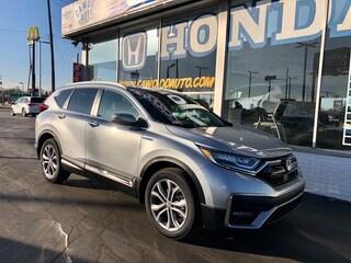 New 2020 Honda CR-V Hybrid Touring SUV 7FART6H92LE025562 in Port Huron, MI