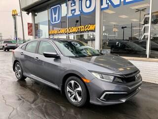 New 2020 Honda Civic LX Sedan 2HGFC2F69LH505271 in Port Huron, MI