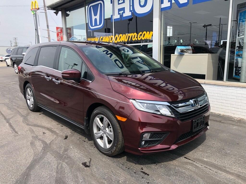Featured New 2019 Honda Odyssey EX Van for sale in Port Huron, MI