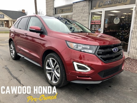 Featured Used 2017 Ford Edge Sport SUV for sale in Port Huron, MI